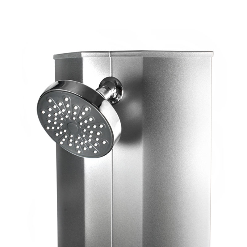 duschset duscharmatur duschkopf handbrause duschbrause aluminium duschpaneel alu ebay. Black Bedroom Furniture Sets. Home Design Ideas
