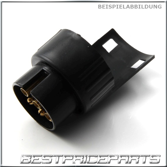 anh ngeradapter fahrzeug auto kurz adapter anh nger stecker 7 auf 13 polig neu ebay. Black Bedroom Furniture Sets. Home Design Ideas