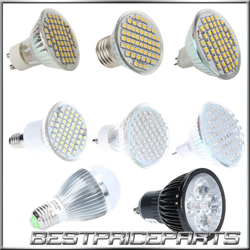 3w 4w 7w kaltwei warmwei mr16 e27 gu10 e14 led strahler lampe leuchte ebay. Black Bedroom Furniture Sets. Home Design Ideas