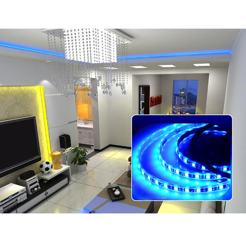 500cm 5m led smd strip leiste band lichtkette rgb 5050. Black Bedroom Furniture Sets. Home Design Ideas